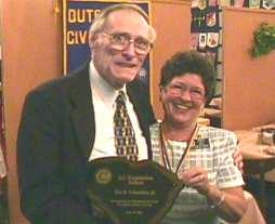 Roy awarded SC District Fellow