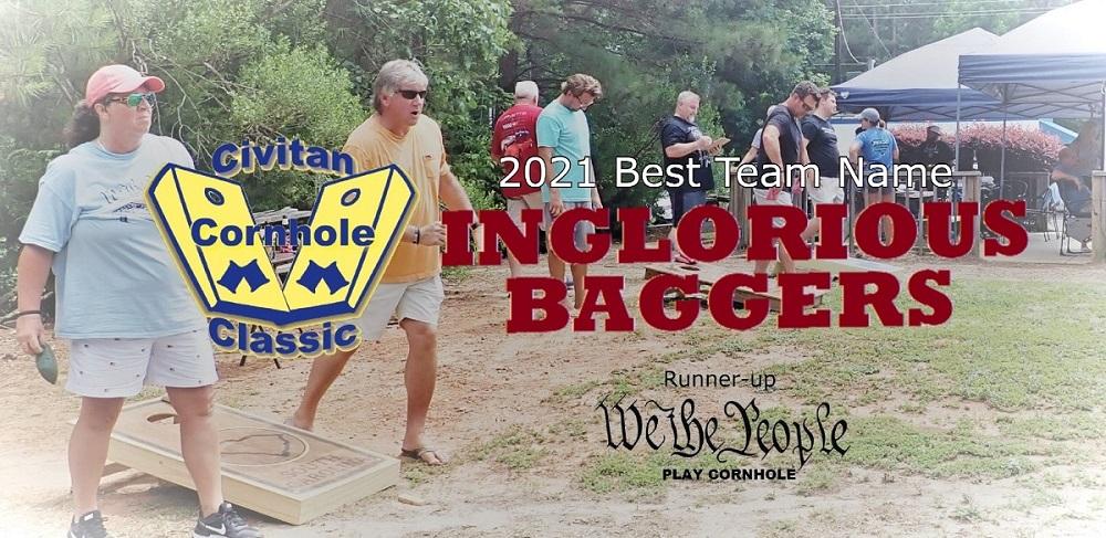 Inglorious Baggers 2021 Best team name